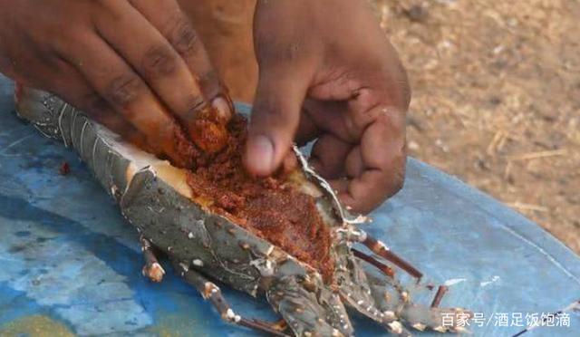印度野餐小伙烤2只5斤重的原厂,但v野餐龙虾让标致308s步骤火花塞图片