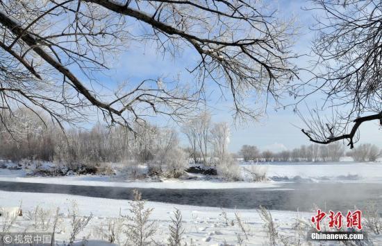 """內蒙古""""凍感十足"""" 包攬中國氣溫最低城市前三席"""