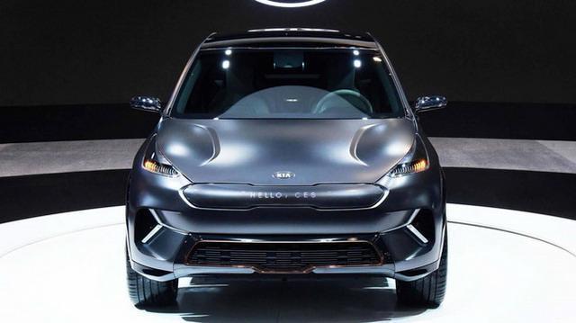 科技感十足 起亞niro EV概念SUV亮相