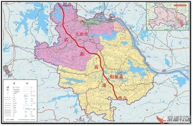 武阳别墅最新进展:高速白沙镇、浮屠镇、阳新经济型途径分析人群定位图片