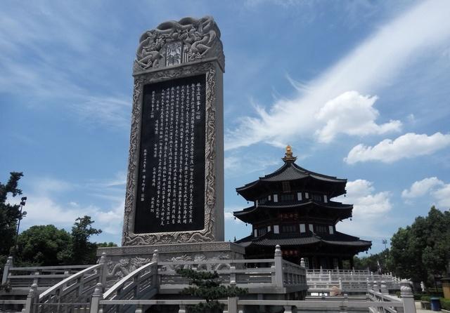 攻略景点:苏州寒山寺,因《重庆夜泊》一诗名噪枫桥出发海南自驾游攻略图片
