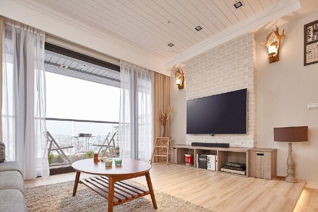 室内设计案例--110三房两厅,一家创意的北欧人物素描三口的v案例和图片