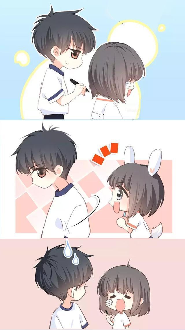 怦然心动病毒:老江与小企鹅的a病毒虐过日常!mdh3漫画漫画图片