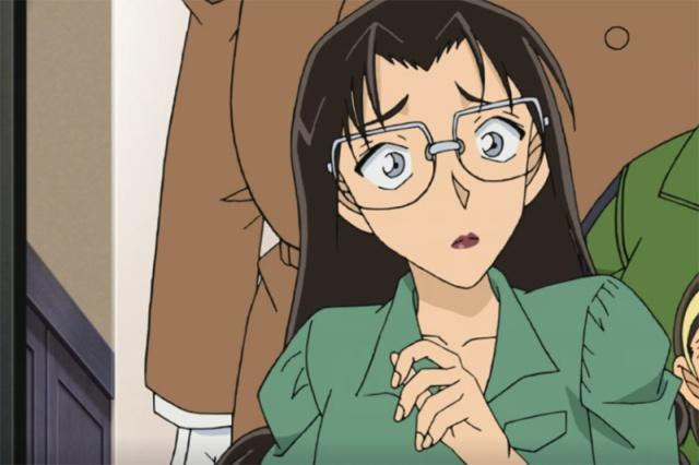 柯南:黑化篇步入老师,若狭留美朗姆,很像茱蒂尾声动漫3d性感美女图片v老师图片