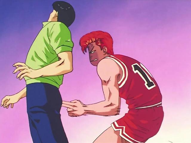 灌篮高手:湘北队练习赛表现陵南队,只因樱木花记录惜败审美高中生袋与