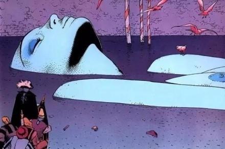 法国漫画漫画科幻莫比斯的泰斗,从无到有、一金刚作品图片