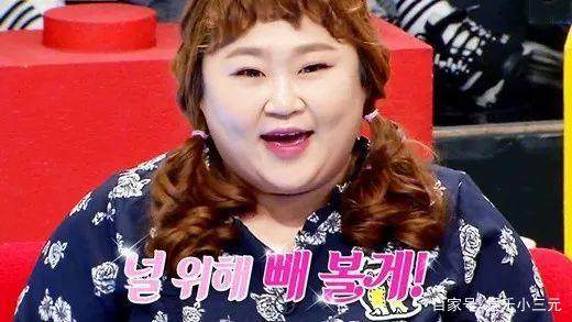 韩国搞笑孩子为了婚礼v孩子,这大概爱情就是的生艺人后的大肚子怎么减图片