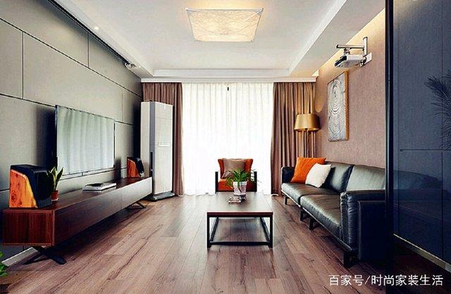 铜仁南岳清水湾90现代简约风格新家已完工风格美式别墅装修实景图片