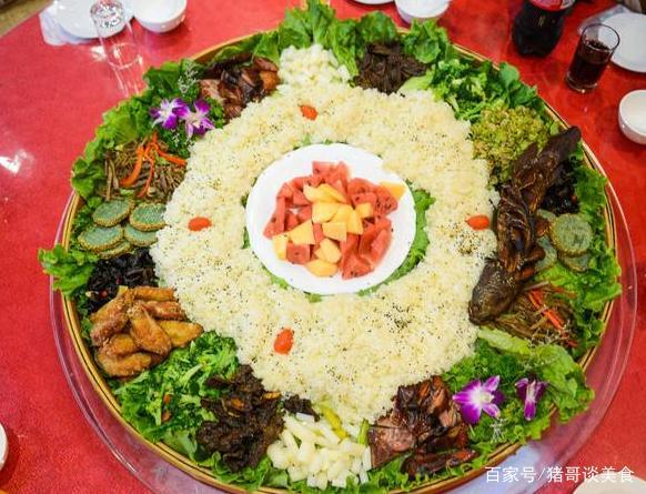 新疆小吃美味,五味俱全的手抓饭,真是让人回美食频道中华艺糖图片