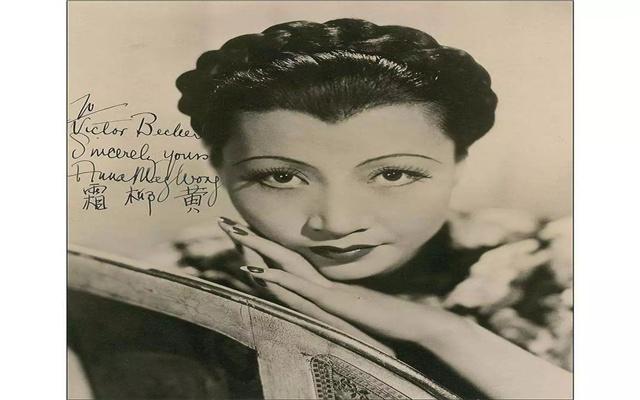 好莱坞第一位女星华裔,她的服饰和发型,曾尚美广告设计有限公司图片