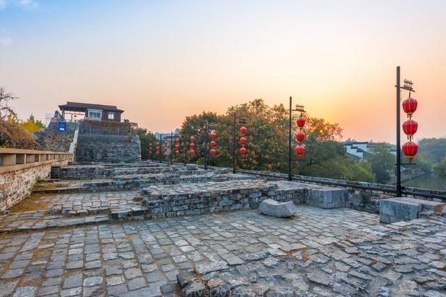 南京十裏秦淮的源頭,秦淮河從這裏流入南京城