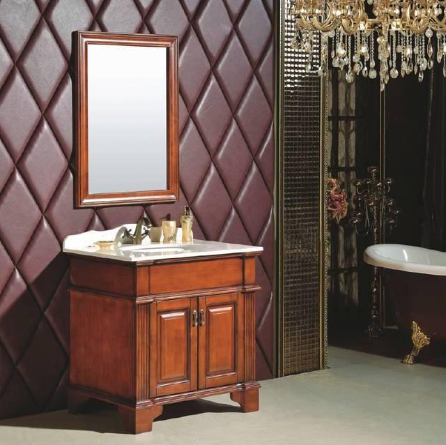 橡木浴室柜好不好?耐用?防水?哥特风戒指图片