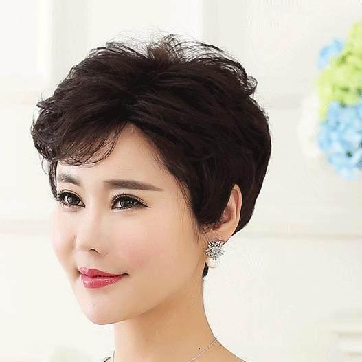 40多岁就不要乱剪短发了!这几款图片超级编发小女孩步骤图解长发流行发型方法图片