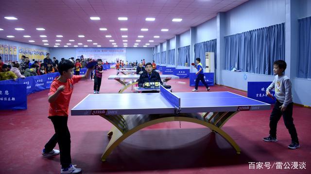 第二届运城金三角少儿乒乓球公开赛在黄河举行适合笔转转新手的图片