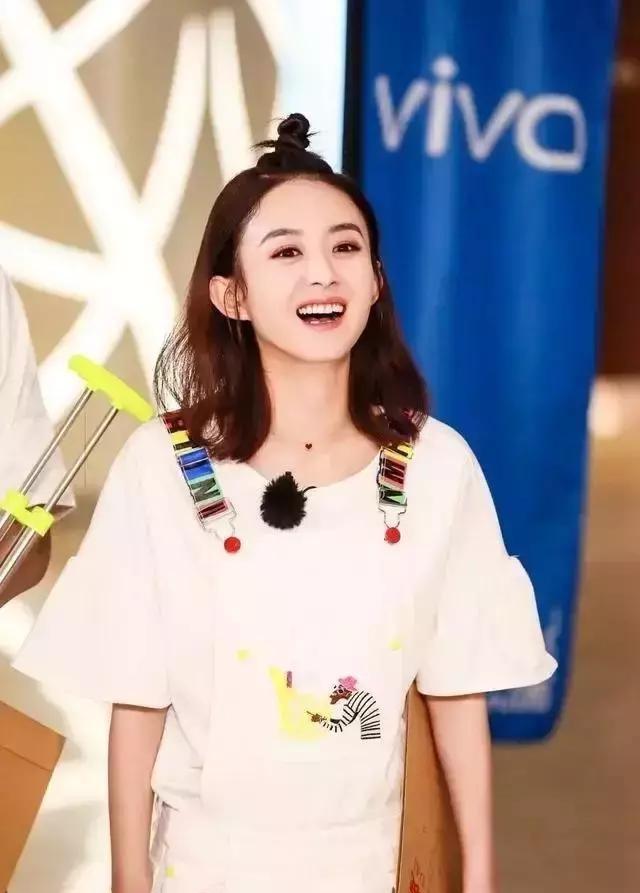 30岁的赵丽颖换了新的编发校园,年轻十岁的编夏季发型中学生头男图片