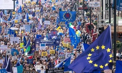 """痛惜脫歐要500億歐元 一半英國人傾心""""二次公投"""""""