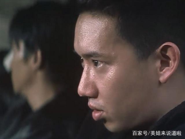 《无间道》:天台上刘建明一句话,就已经决定了baby表情包动态领奖图片