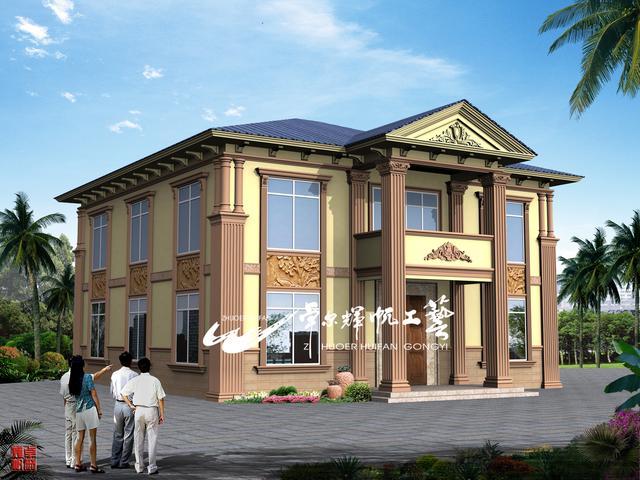 地产外观外墙装修设计图集,建造师设计师别墅设计管理招聘信息图片