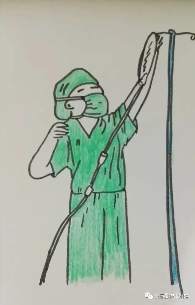【护士温度】用漫画记录手术室的厚度和画笔乐乐韩国漫画图片