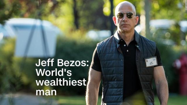 黑五完結,貝索斯成為唯一在世的千億富豪