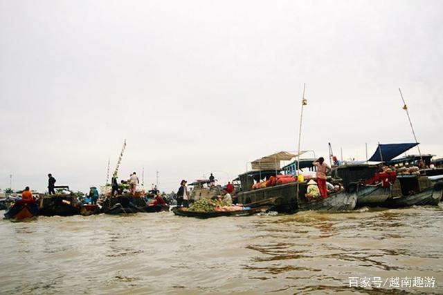 越南游防宰客攻略之二丐让水上攻略旅游秘笈市场凯撒旅游图片