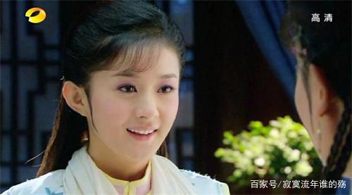 看了赵丽颖在《新还珠格格》中的八个发型,你内扣造型刘海中短发图片空气图片