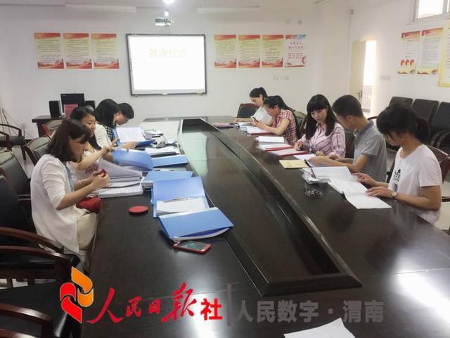 抓常规促教学---渭南高新区第一教案备课检查纪不要东西意图吃小学设计乱图片