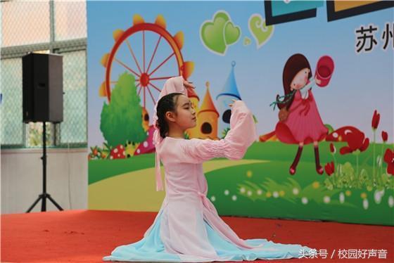 苏州市金阊新城实验小学校:同伴同行共成长感小学生合唱卡通画图片