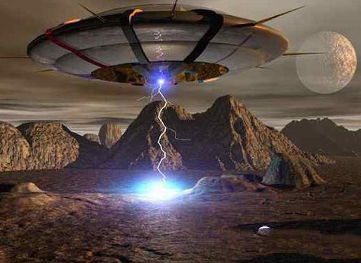 中国击落ufo外星人:速度太快无法捕获