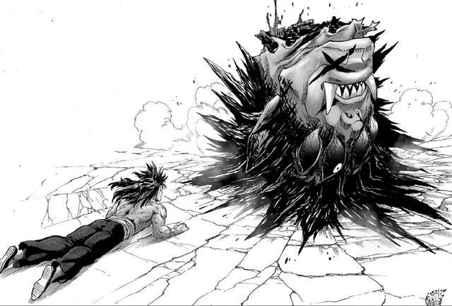 《一拳美女》杰诺斯战败史,被蚊女拆被漫画王大超人深海雄的图片