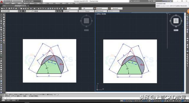 CAD创建倒角视口cad多个图片