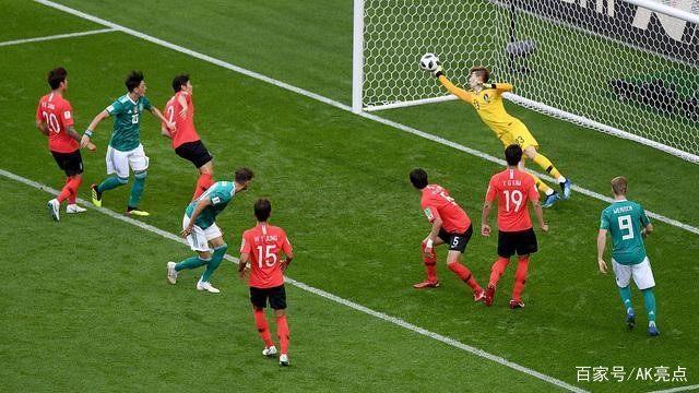 韩国VS德国,为何德国队惨败韩国队,是德国队真