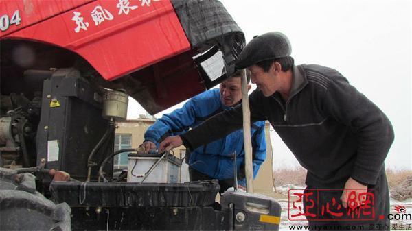新疆福海縣開展農機檢修備戰春耕生產