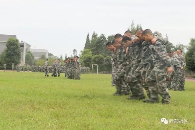 训练处方开到了新兵训练场
