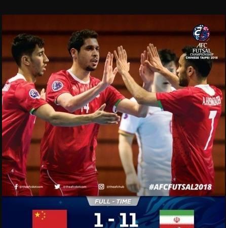 中国队1-11伊朗比分太悬殊?了解完五人制足球