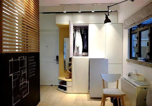 套内面积32平的两居室,收纳超级强,网友:这在香