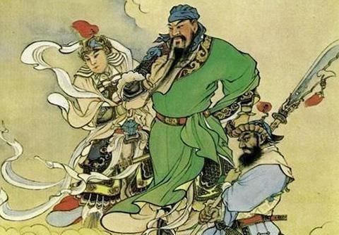 民间传说--关老爷磨刀