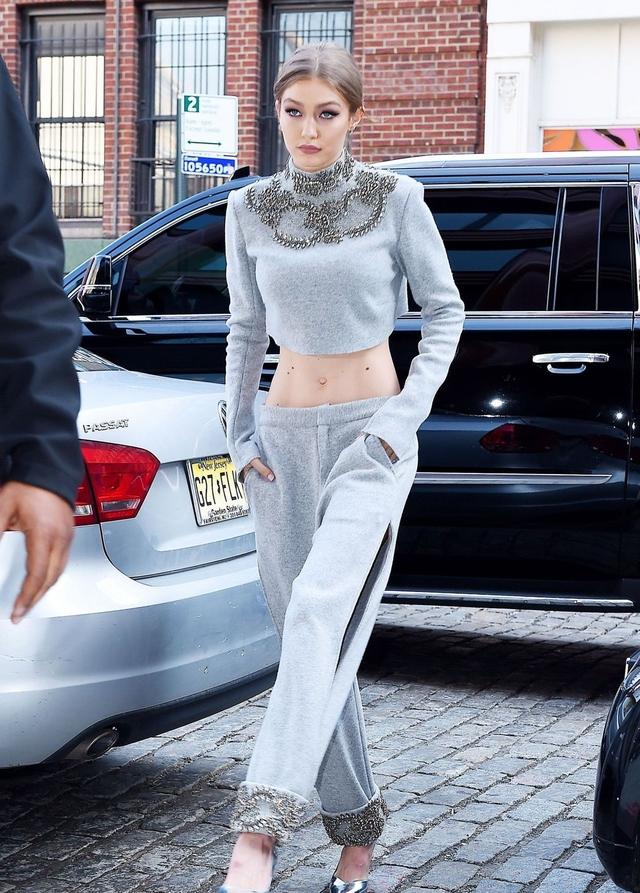 直击Gigi Hadid的容貌变化有多大,18岁到22岁