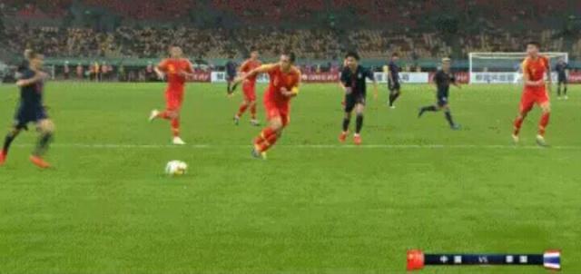 2019中国杯足球赛,国足不敌泰国以0:1输掉比赛