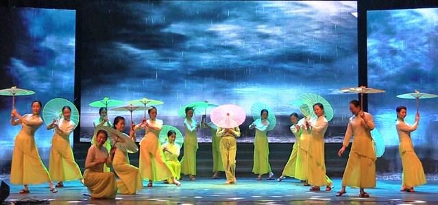 电影 雨打芭蕉 舞蹈作品解析