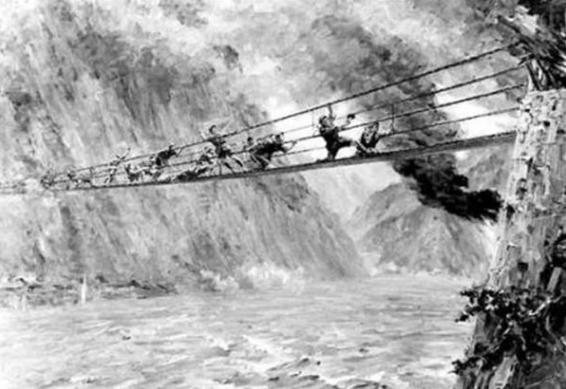 飞夺泸定桥英雄排长,毛主席说没他我们就成了