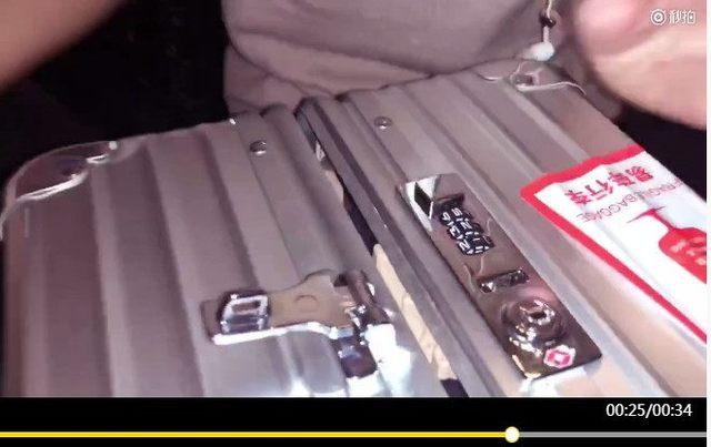 1根发夹撬开行李箱密码锁!素颜激发女星潜能