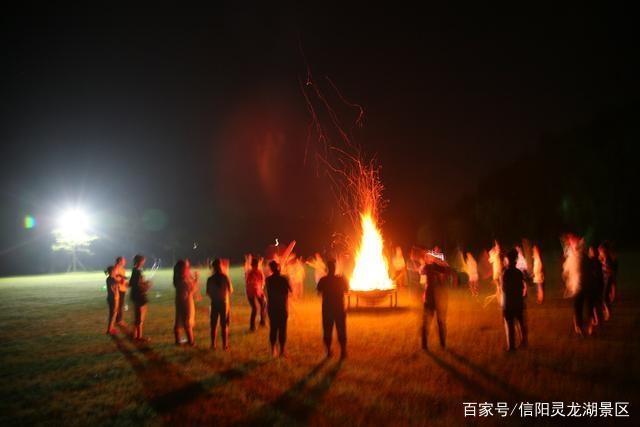 来自原野的召唤――信阳首个大型户外营地火爆开营!
