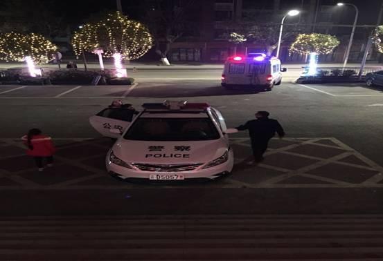 男子酒後開車送兒子入院 萬盛民警依法處置代為送醫