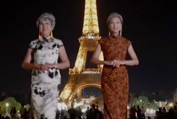 实时热点-中国时髦奶奶惊艳巴黎!(1)