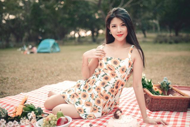 人像摄影 有一个形容女人漂亮的词叫秀色可餐