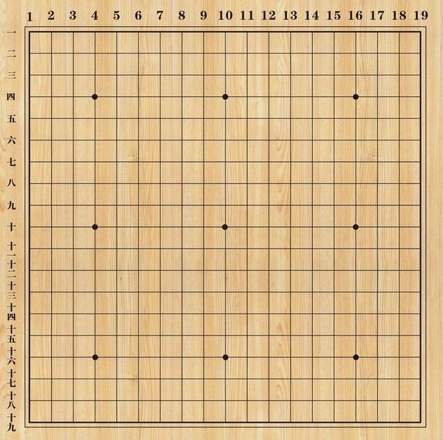 围棋棋盘共有几个交叉点?
