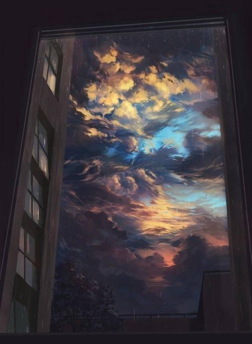 高清动漫风景壁纸,让您的手机更有逼格