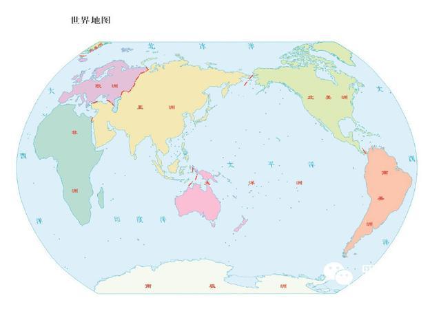 世界地理系列:一分钟了解七大洲分界线