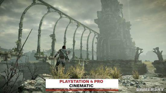 《旺达与巨像》PS4 Pro版对比PS2 重制绝景令